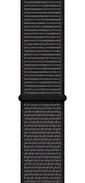 Lopard Watch 40mm KRD-03 Hasır Spor Loop Kordon Kayış Siyah